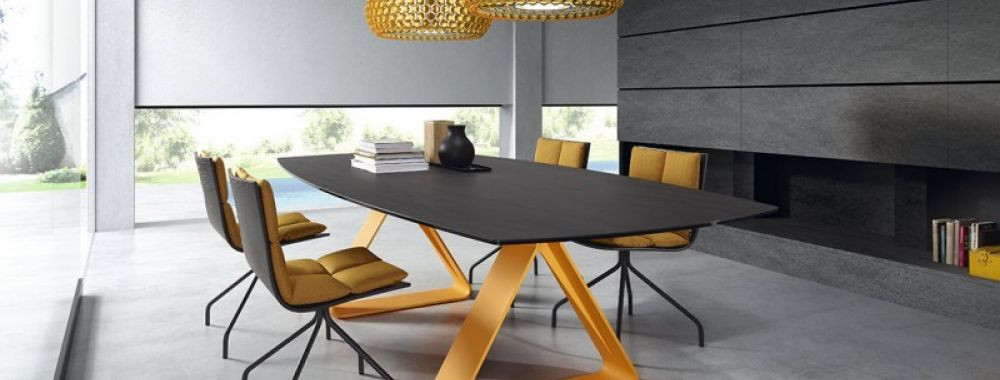 table dressy par lentrept contemporain table - Table Contemporaine